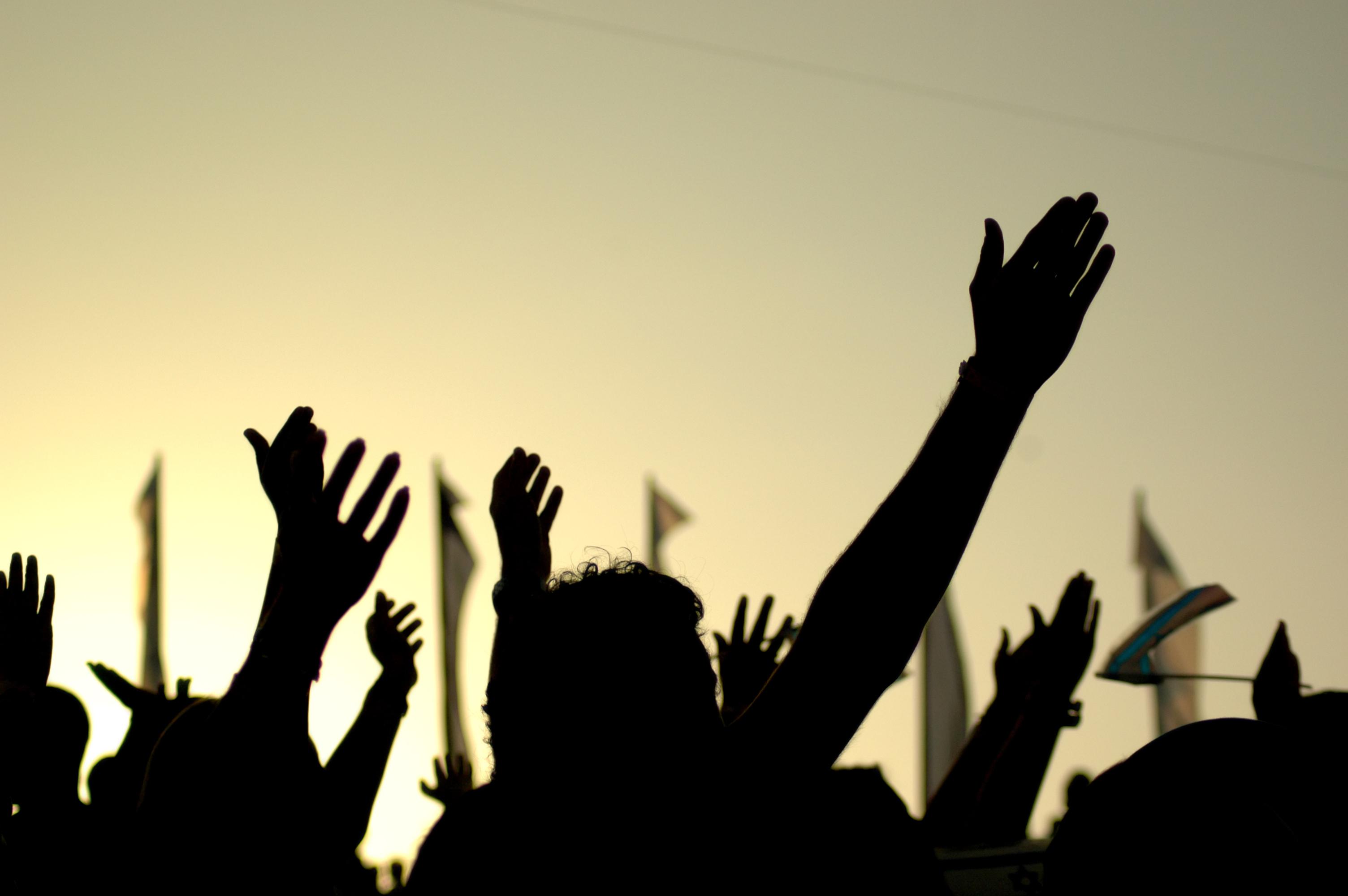 Minorities-protest